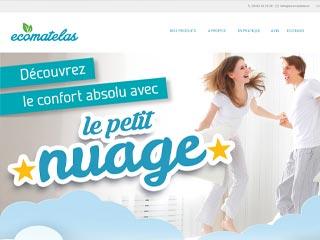 Screenshot ecomatelas.fr